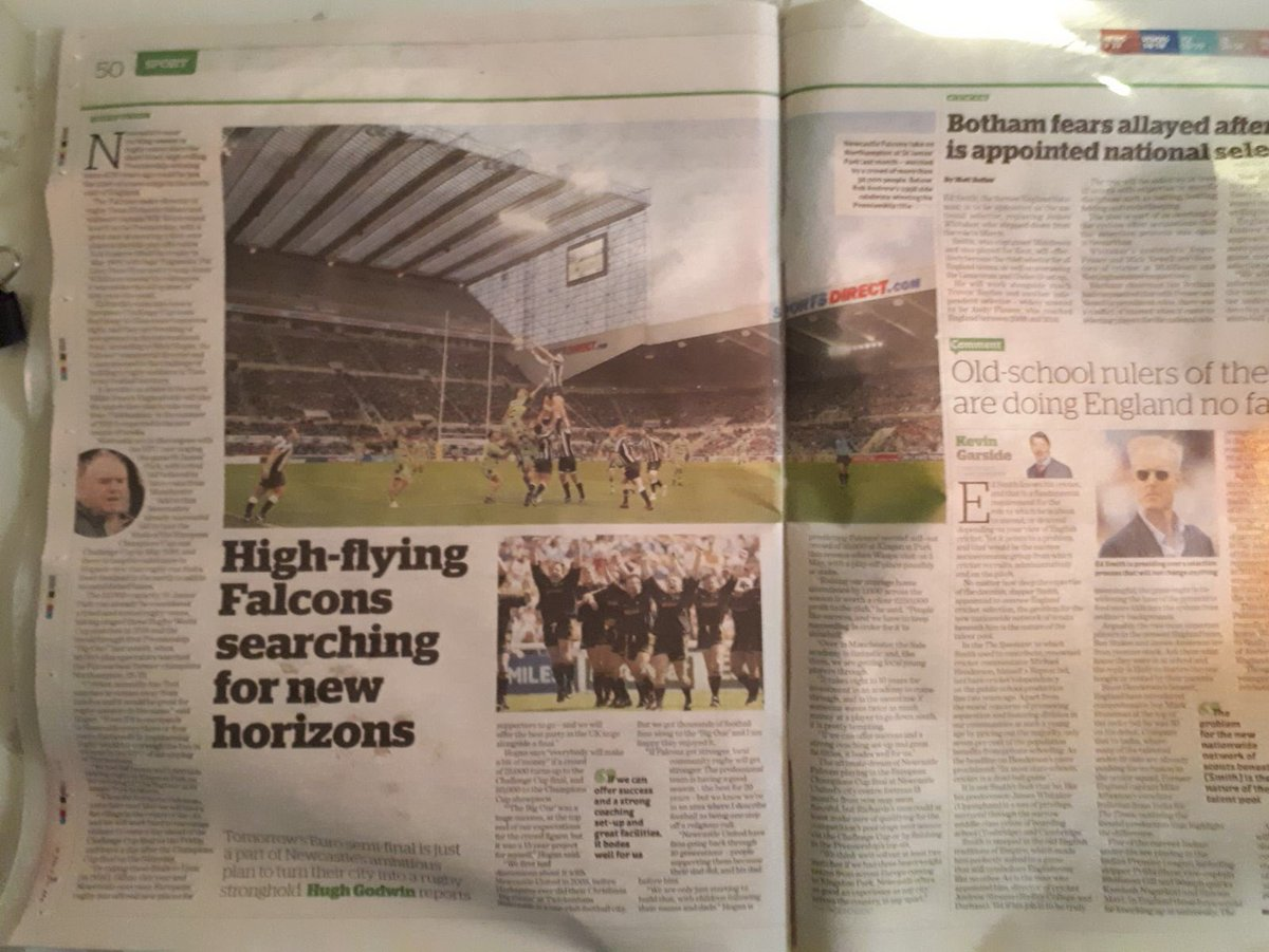 Newcastle Falcons @FalconsRugby
