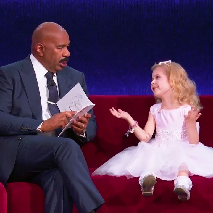 This 6-year-old just schooled @IAmSteveHarvey. #LittleBigShots https://t.co/4RiwnYtzqH