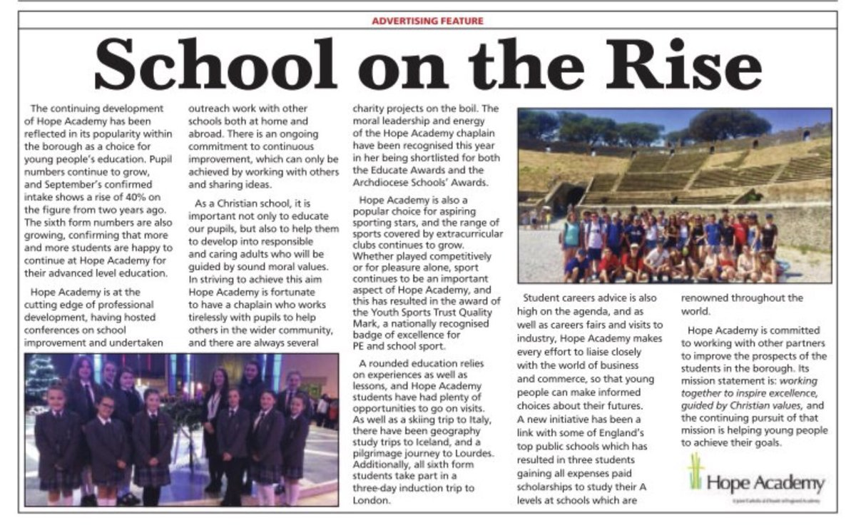 Very proud to read in @sthelensstar about all the wonderful opportunities our staff and students get involved in.  #respect #courage #ambition <br>http://pic.twitter.com/a8FSFgDRB0
