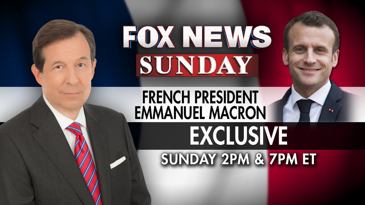 EXCLUSIVE: Chris sits down with French President Emmanuel Macron at the Élysée Palace ahead of his state visit to the United States. See the interview on FOX this Sunday, April 22 (Check your local listings); as well as on Fox News Channel Sunday at 2PM/ET, 7PM/ET & Monday 2AM/ET