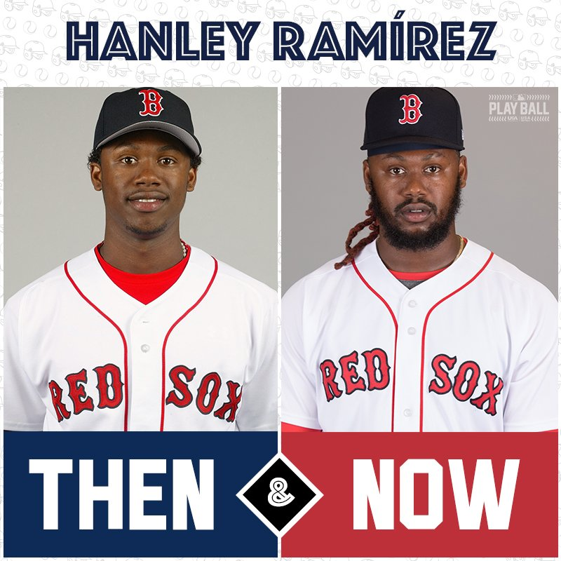 Once a @RedSox prospect, now a @RedSox vet ... it's @HanleyRamirez! #TBT https://t.co/xlznEZDIu4