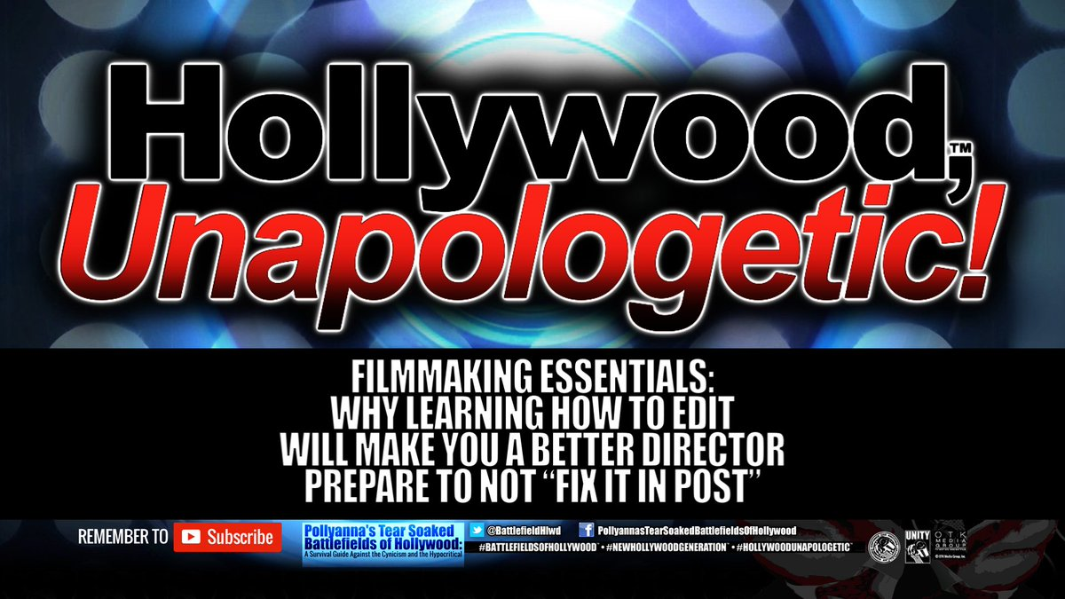"#Filmmaking Essentials: Why Learning How To Edit Will Make You A Better Director Prepare To Not ""Fix It In Post""  https:// youtu.be/ipVAxtjaMDU  &nbsp;   Please watch &amp; share #HollywoodUnapologetic #NewHollywoodGeneration #SupportIndieFilm #WomeninFilm #IndieFilm #Diversity #Cinema #Film<br>http://pic.twitter.com/CHtUTOsm5i"