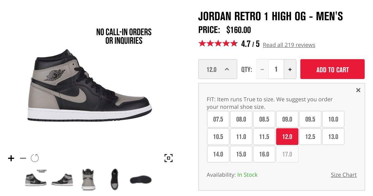 Air Jordan 1 Restock Coming Soon via Foot Locker Kicks Links