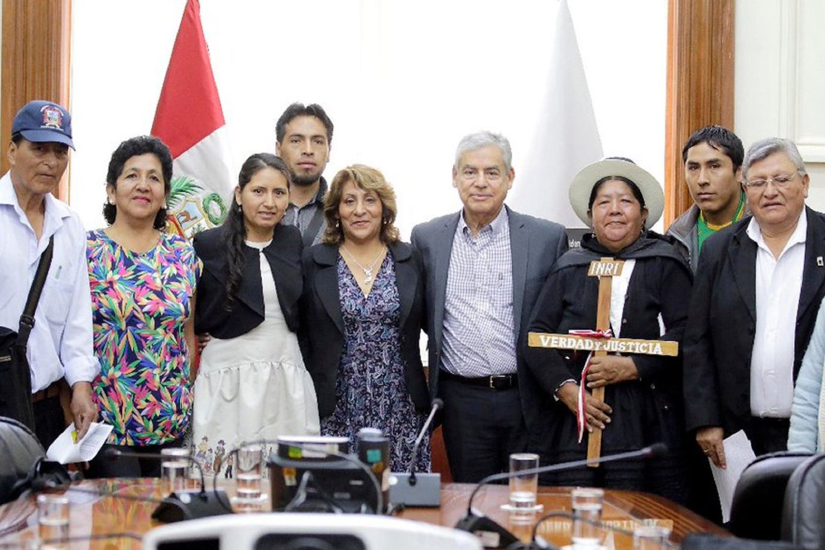 Peru PM: Gov't willing to dialogue and listen to those affected by terrorism https://t.co/94JlaMWNW8