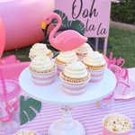 """65 Likes, 15 Comments - Laura Aguirre (@lauraslittleparty) on Instagram: """"I can't wait to share this sweet Flamingo Summer Splash party! I'm 14 days away from sailing away…"""" This fantastic party idea was featured today on https://t.co/2n0L40LUCS! #partyideas #party #birthdaypa…"""
