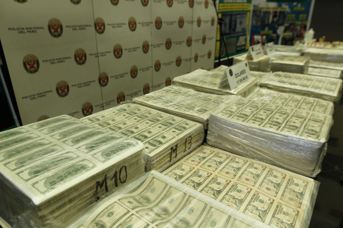 Peru seizes over US$10 million in fake bills https://t.co/E67XmTwkHZ