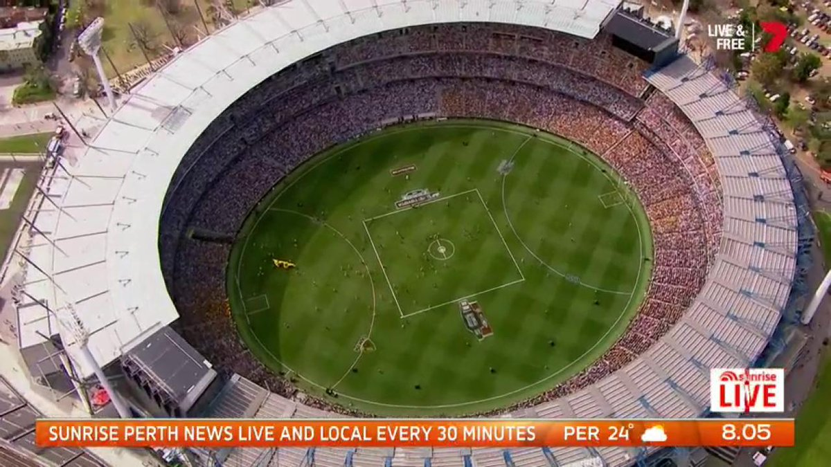 Image for the Tweet beginning: West Coast Eagles granted rare