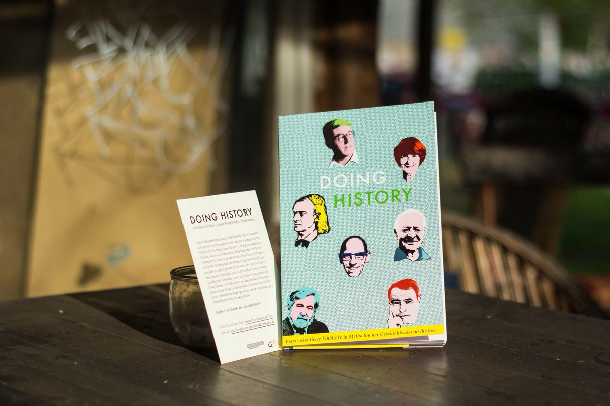 Our booklet is out now! DOING HISTORY for real and a little utopia of academic teaching and learning. Open access now:  https:// forschungsforum.wordpress.com / &nbsp;   #doinghistory #academia #leipzig #university<br>http://pic.twitter.com/YoyjIqvVzu
