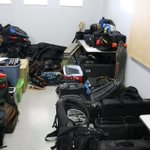Image for the Tweet beginning: Officers executed search warrants in