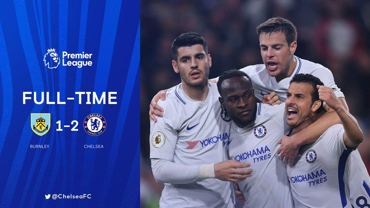 Chấm điểm kết quả Burnley 1-2 Chelsea