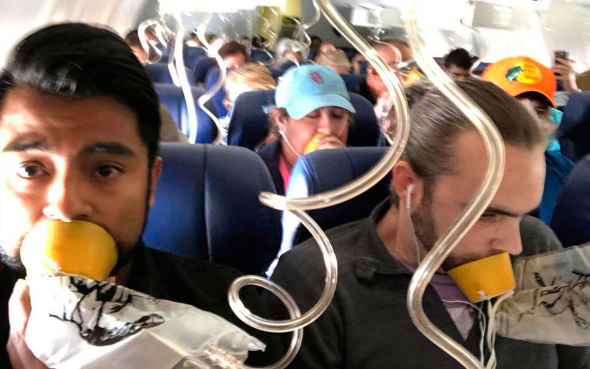Passageiros descrevem 22 minutos de pânico em voo no qual mulher morreu ao ser sugada nos EUA https://t.co/28cYAeh5nC #G1