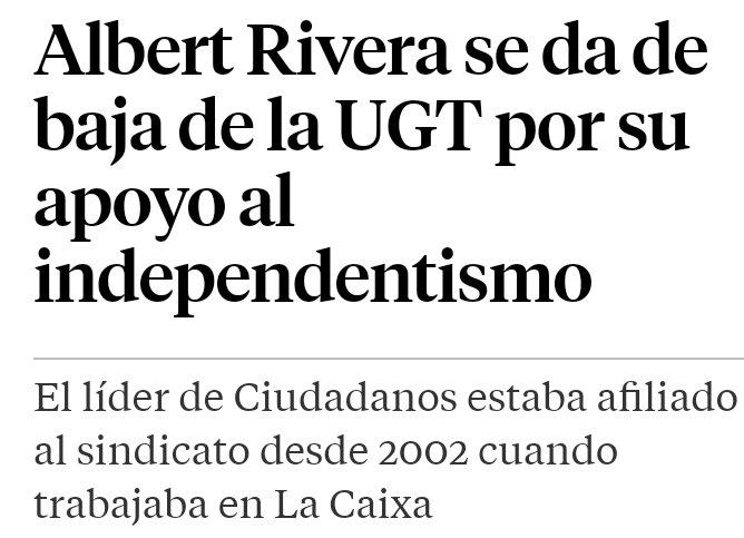 Albert Rivera se afilió en 2002 al PP y...