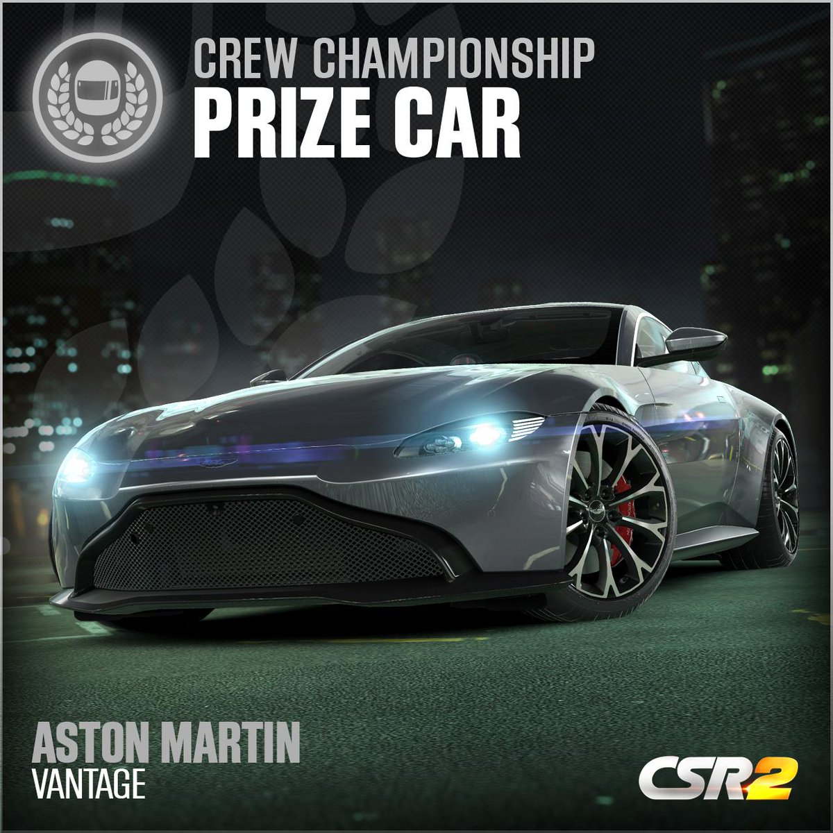 Csr Racing On Twitter Race For A Chance To Win The Unique Aston Martin Vantage In The New Csr2 Crew Championship