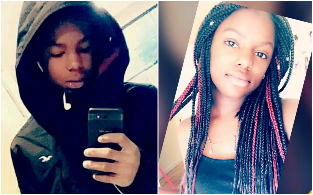 UPDATE: Family have identified two children killed in Wednesday's shooting in Asheville as 15-year-old Keithan Whitmire and 13-year-old Harmony Smith (Photos via Facebook) https://t.co/4SO6NdAvWS