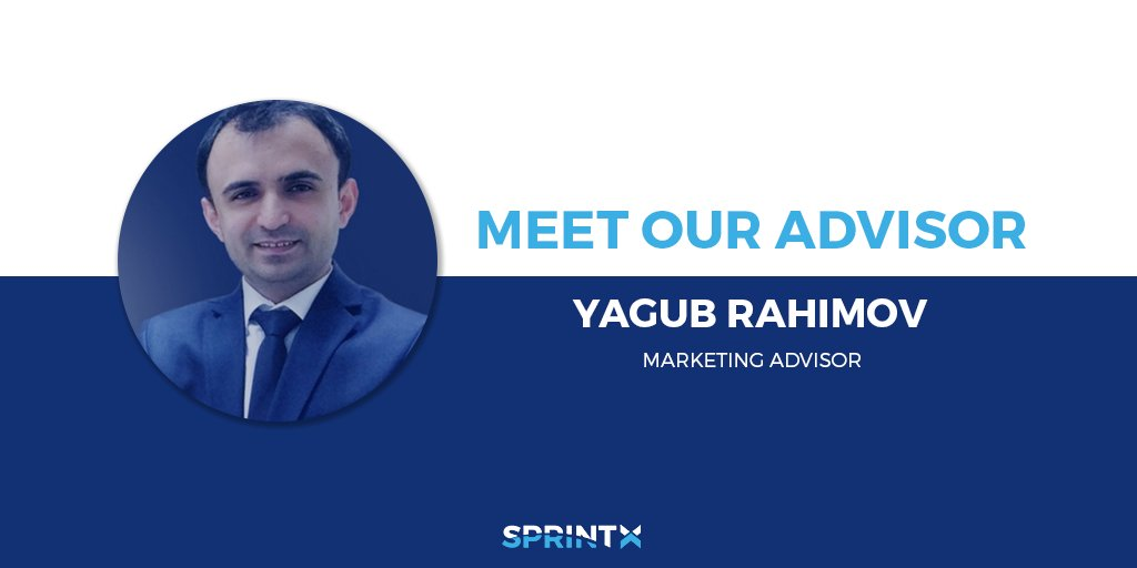 Meet our #advisor Yagub Rahimov he is the CEO/Co-founder at 7marketz Inc. Group. @yrahimov is serial entrepreneur operating within #FinTech.  Check him out on our website:  https:// buff.ly/2ET2V6g  &nbsp;    #cryptocurrency #bitcoin #blockchain #crypto #btc #ico #startup #eth #SprintX<br>http://pic.twitter.com/HSDmCd3BFw