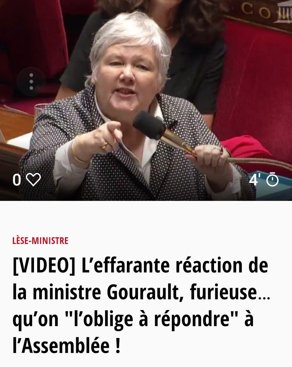 Le vrai visage de #EnMarche !! #Gourault...