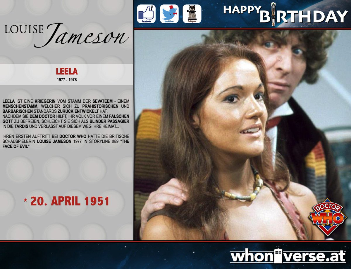 Louise Jameson (born 1951)