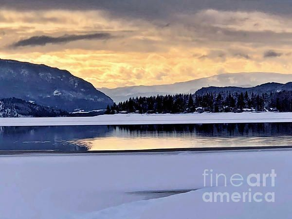 One Winter Day By The Lake 4 by Victor K  http:// bit.ly/2FojoAm  &nbsp;   #quietness  #fineart #romantic #landscape #big #Shuswap  #Winter #snow covered #beach and #frozen #lake_surface #Moody #tonal #art #romantic #RomanceBooks<br>http://pic.twitter.com/tePqzhL4Yl