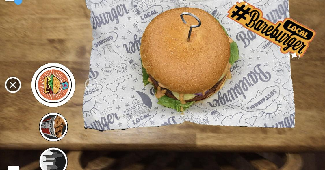 This chain of restaurants has launched an AR menu on @Snapchat https://t.co/UF8YN2DYEP via @DigitalTrends