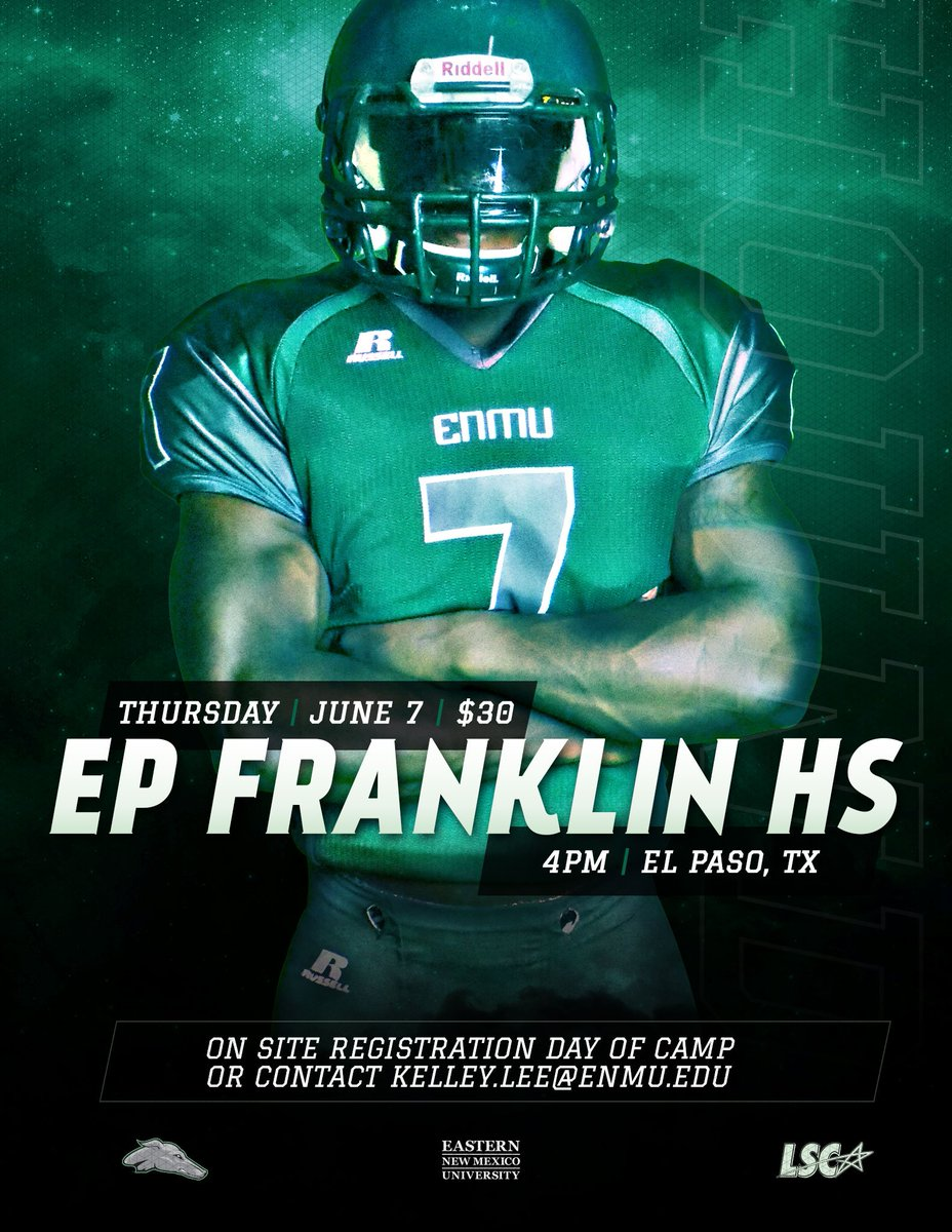 Ep Franklin Football On Twitter Eastern New Mexico University