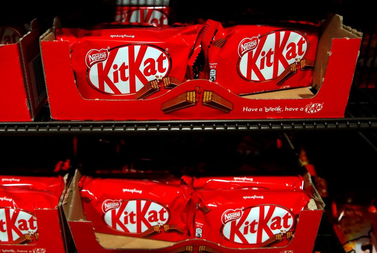 Disputa na União Europeia | Nestlé pode perder formato exclusivo de 4 barras do KitKat https://t.co/EE1gQ6wrhE