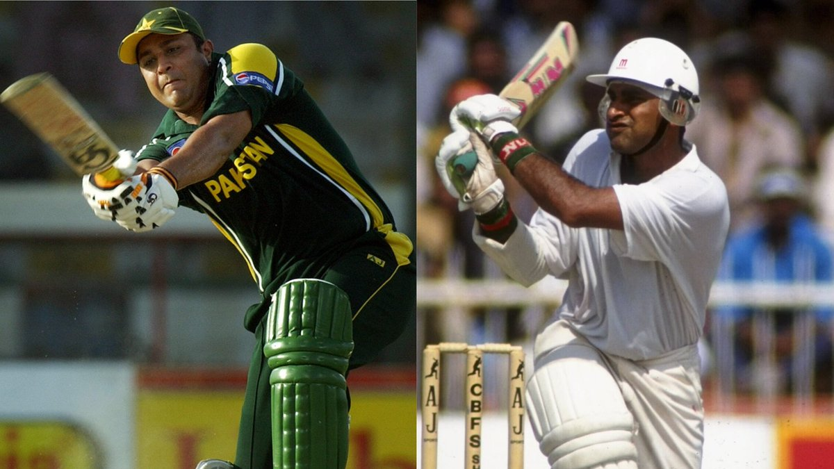 #OnThisDay in 1994, @InziTheLegend and Aamer Sohail made a 263 run partnership for Pakistan against New Zealand in Sharjah - at the time a record for any wicket in ODIs.