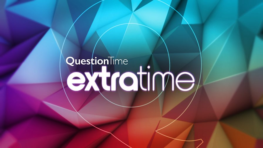 Hit your red button NOW to join Adrian Chiles on Question Time Extra Time for reaction to tonight's #bbcqt - and remember you can text in on 85058 https://t.co/L5e7X3gAcD