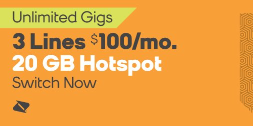 boost mobile on twitter get 3 lines each with unlimited gigs and