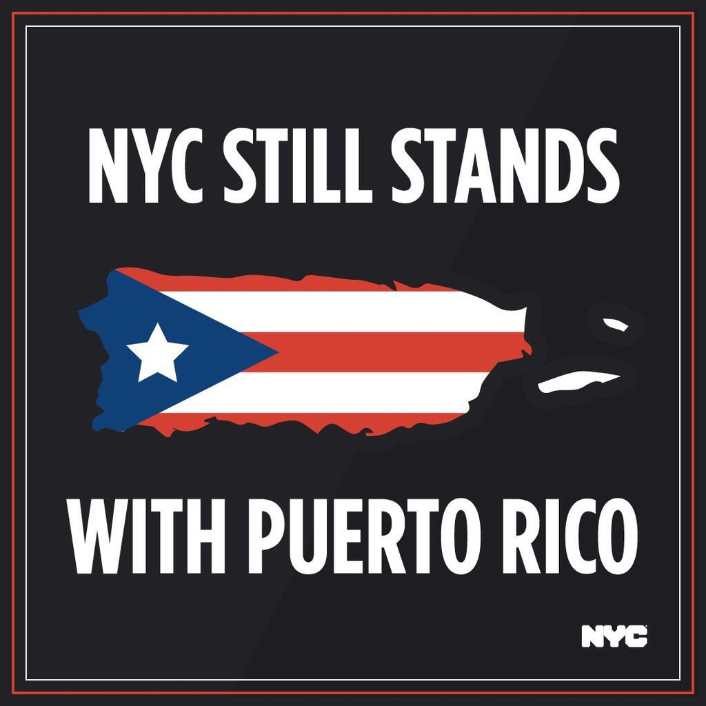 FEMA and the White House abandoned 83 American families when they cut off shelter assistance to Puerto Ricans displaced to New York City after Hurricane Maria.  That's why we're covering the costs of temporary housing for our fellow Americans. #PRstrong