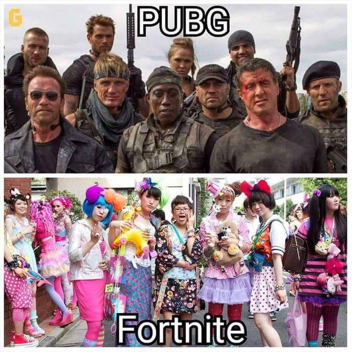 The Endless Memes Of Fortnite And Pubg
