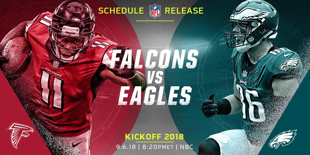 �� FOOTBALL! ��  The 2018 NFL Schedule is HERE: https://t.co/xUsEg41NgQ #ScheduleRelease2018 https://t.co/8E7mZ0J08q