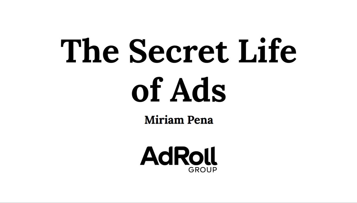 In a few hours Im going to connect from #SanFrancisco to #Madrid to give my talk &quot;The Secret life of Ads&quot; at #IPT2018. You can still join us! #diversity #WomenInTech #visibility   https:// ipt.acm.org/programa/  &nbsp;   @IPT_ACMW_es  @AdRollDev <br>http://pic.twitter.com/XUP4MqPfSX