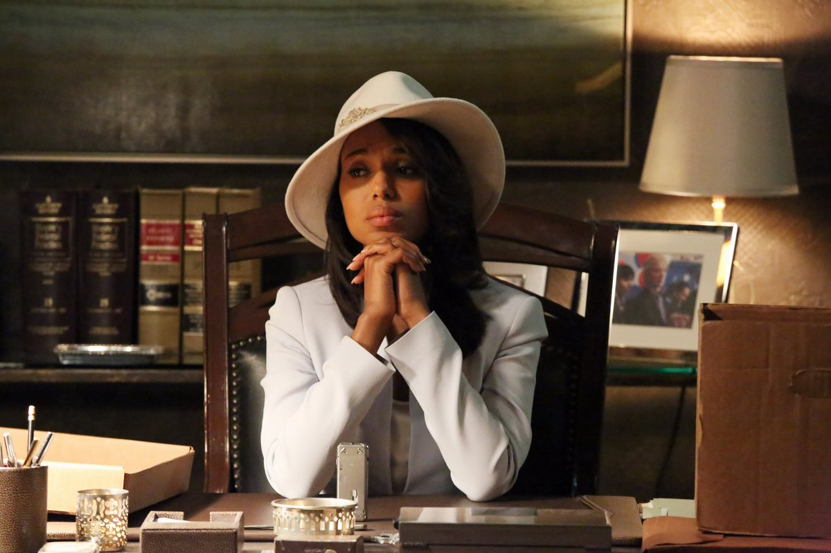 7 years of Olivia Pope finally come to a...