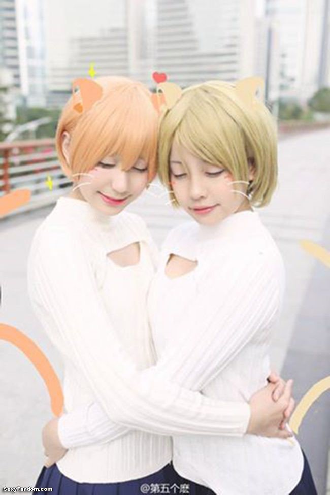 Sexy Fandom: Meownderful Hanayo and Rin Cosplay https://t.co/XozvSY8bmt...