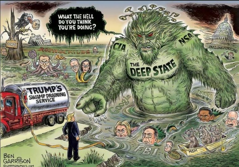 Ex-FBI director James Comey confirms there is a &#39;deep state&#39;  #draintheswamp   https:// dailym.ai/2Hd5W7o  &nbsp;     #MAGA #Trump #resist the #resistance #NationalHighFiveDay<br>http://pic.twitter.com/mNl5d6rTQZ