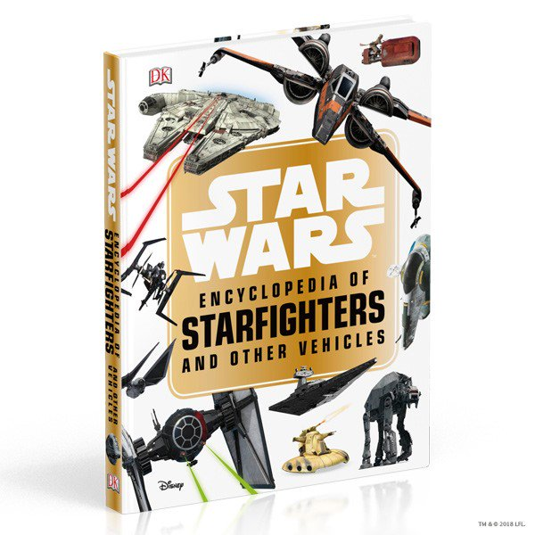 How are you celebrating #Maythe4th? MAY we recommend some #StarWars reading? Our Star Wars™ Encyclopedia of Starfighters and Other Vehicles will really have you feeling moved! bit.ly/starfighters #MayThe4thBeWithYou #StarWarsDay
