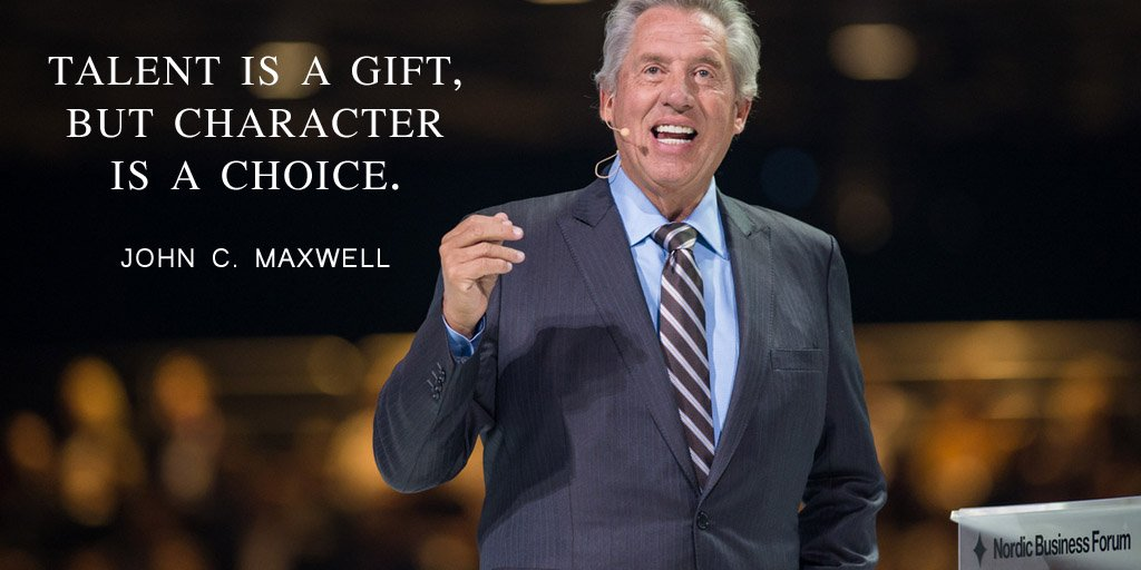 Talent is a gift, but character is a choice. - John C. Maxwell #quote #success #quotes #JoyTrain #SuccessTRAIN<br>http://pic.twitter.com/mROJ0mX97L
