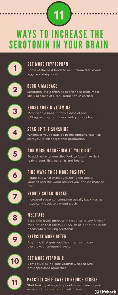 11 Ways to increase the serotonin in your brain! #BoneAndOak #Serotonin #BrainHealth #Happiness  https://www. pinterest.com/pin/ATBYM8d1j_ 9zdjN3U7YL_-lbOTHLEC8L1P617TybSKNb9Gge2luMHrE/?utm_source=dlvr.it&amp;utm_medium=twitter &nbsp; … <br>http://pic.twitter.com/feZotqk2pt