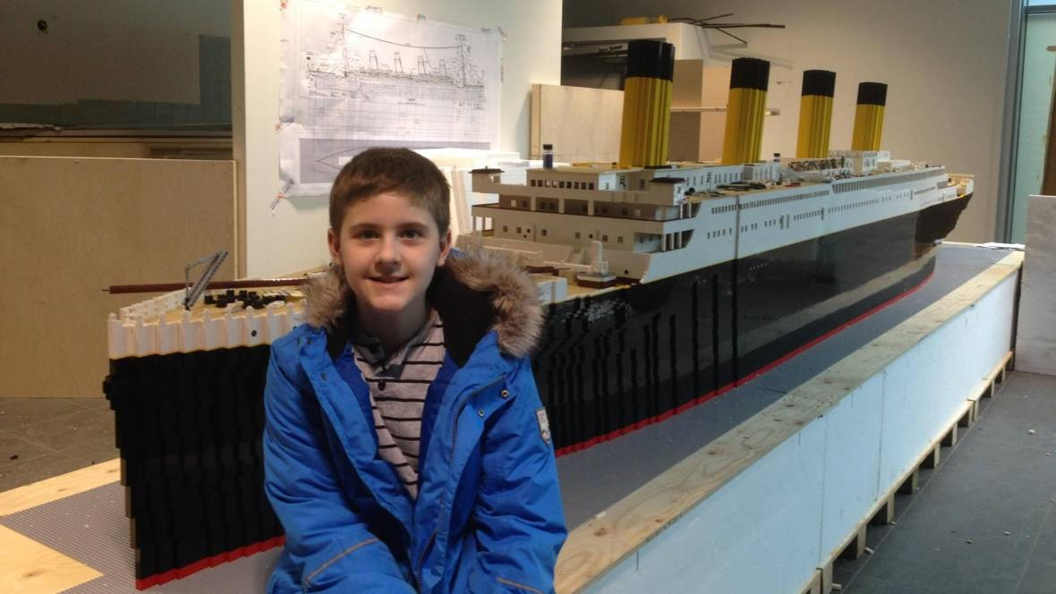 &#39;It saved his life&#39;: Teen with autism builds world&#39;s largest Lego Titanic replica  http://www. cbc.ca/1.4626487  &nbsp;  <br>http://pic.twitter.com/dNcVOzHkSS