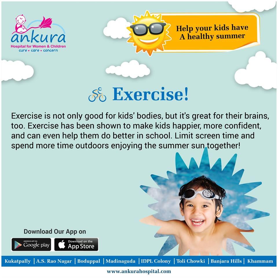 Exercise Makes Kids Brains More >> Healthythissummer Hashtag On Twitter