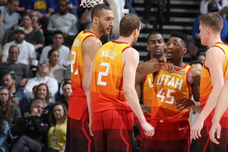 #Jazz finished 34-7 when holding its opponent under 100 points. Utah tied the San Antonio Spurs for first in the league in points allowed (99.8).  #jazznation #takenote