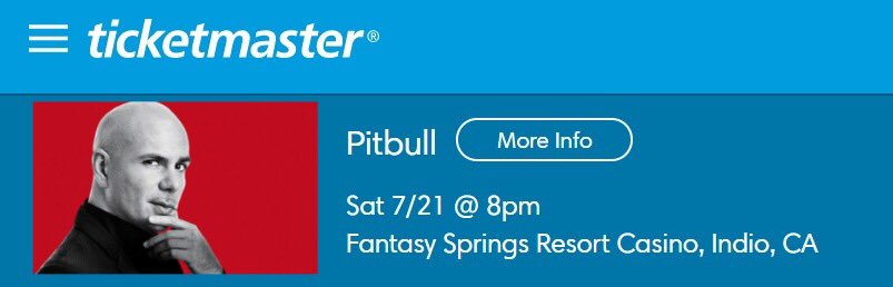 #NEWS: @Pitbull will be performing at Fantasy Springs Resort &amp; Casino's Event Center in Indio, CA on July 21st!<br>http://pic.twitter.com/9gbArbOJG9
