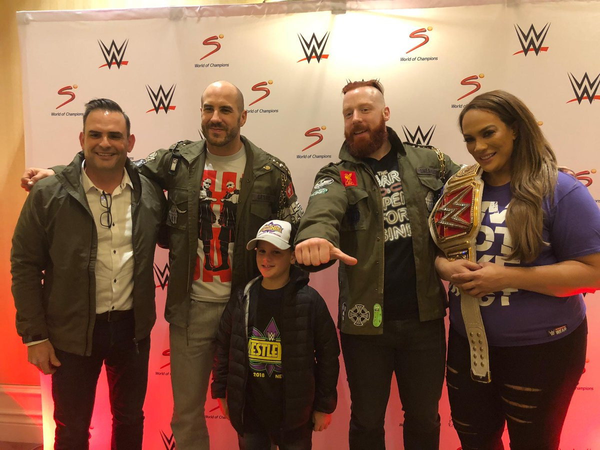 Wwe on twitter fans got the vip experience and were able to meet wwe on twitter fans got the vip experience and were able to meet wwecesaro wwesheamus and niajaxwwe wwecapetown m4hsunfo