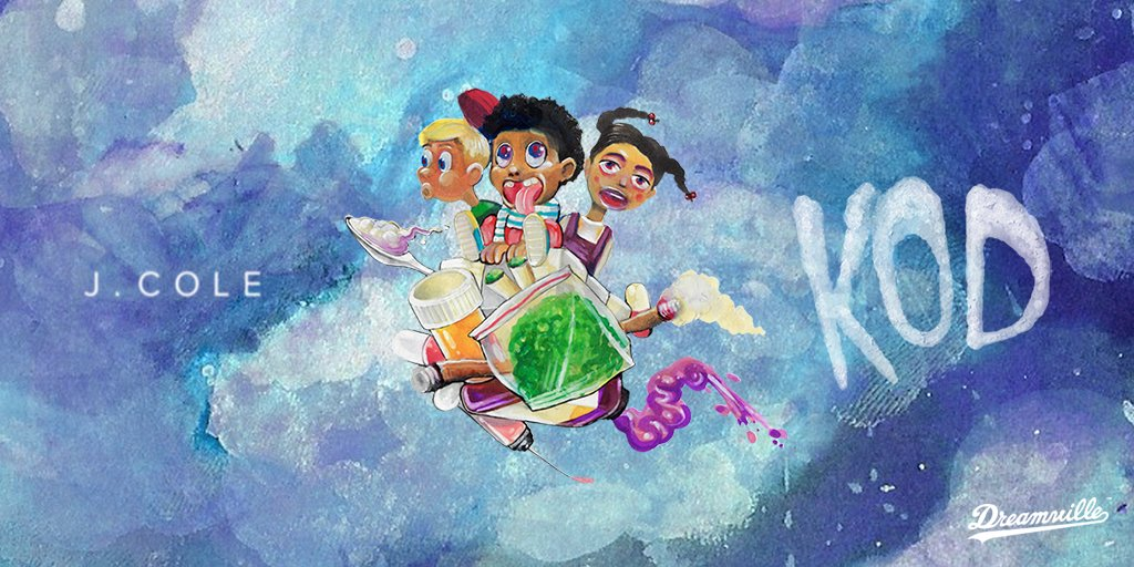 .@JColeNC's new album #KOD is now available everywhere #Dreamville https://t.co/znM93L6Qhz https://t.co/ziP9VjsoUG