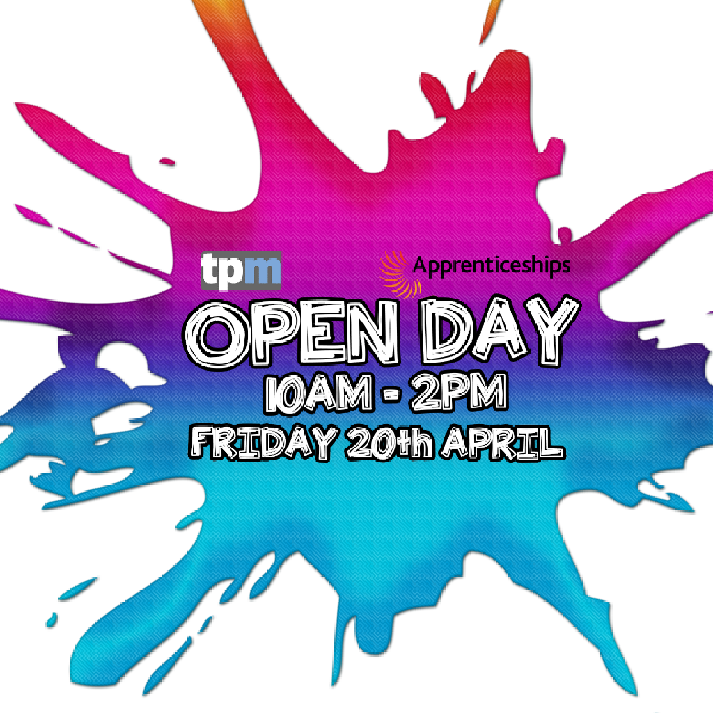#tpmopenday is now live! Get yourself down to #tpm and meet the #team! #apprenticeships and #traineeships in #Childcare #business #administration #hairdressing #heretohelp #leadingthewayinskillsandsupport   http:// ow.ly/SNID30jAyXE  &nbsp;  <br>http://pic.twitter.com/M8bXZxODDw