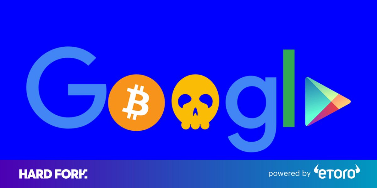 Google Play is hosting a disturbing amount of cryptocurrency malware https://t.co/s0CScEHdVL
