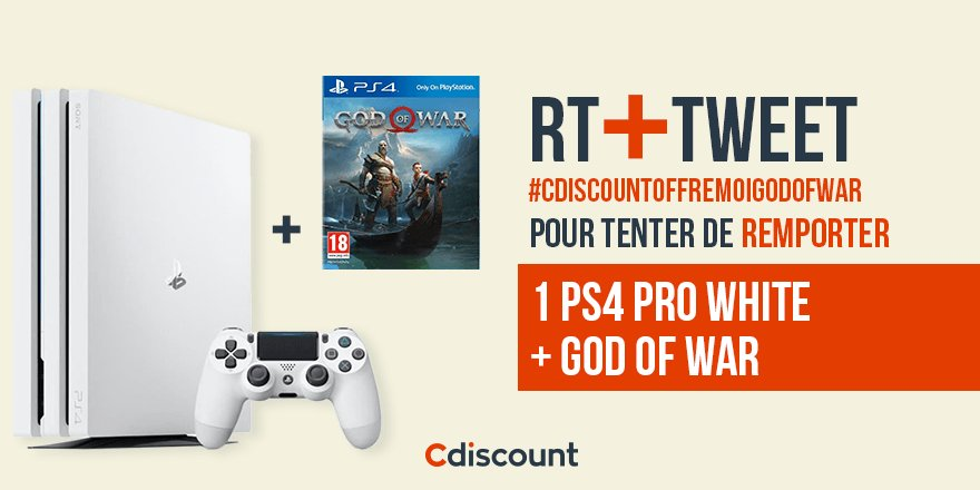 Cdiscount's photo on God of War