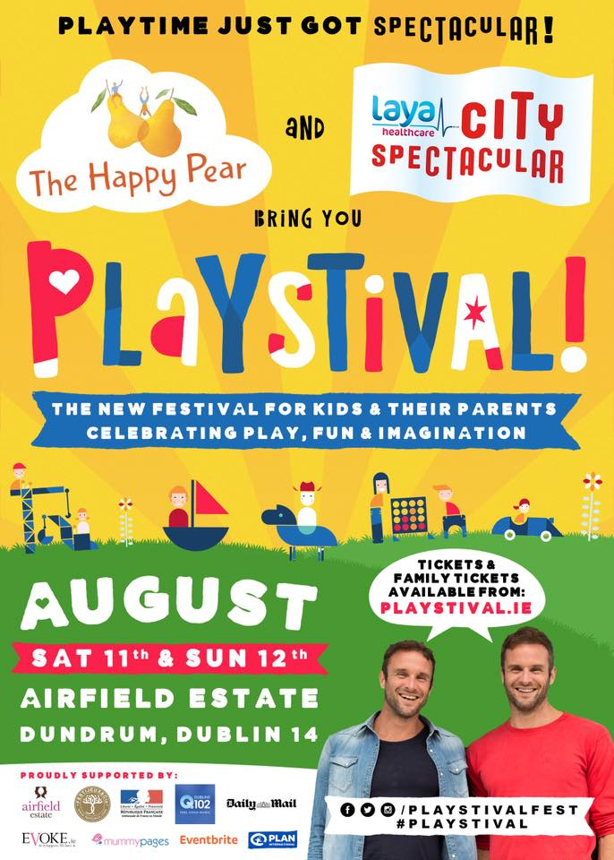 #Fridayfeeling Giveaway 🙌🎉! Win a family of 4 ticket to @playstivalfest at Airfield Estate this August! Playstival is a 2 day family festival that celebrates play, imagination & fun with imaginative games & themed play universes. To enter simply RT & follow @playstivalfest