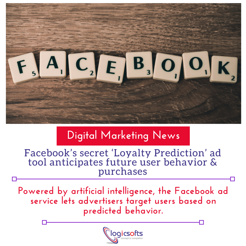 #Facebook's secret '#Loyalty #Prediction' ad #tool anticipates #future user #behavior &amp; #purchases.  #BigData #DataScience #DigitalMarketing #socialmediamarketing #marketingtips #OnlineBusinesses #startups #SEO #SMM #Tweet #tips #SocialMedia #DigitalTransformation #ecommerce<br>http://pic.twitter.com/Lhos6Yn6Ss