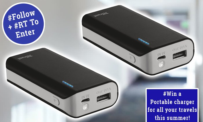 #Win a Primo Power Bank 4400 Portable Charger, ideal for long business trips and any #summer travels! #Follow &amp; #RT to enter #FreebieFriday #FridayFeeling 4 to #Giveaway! UK Only ~ Winners announced on Monday! #OfficeMonster<br>http://pic.twitter.com/7oow9gla3Y